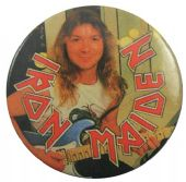 Iron Maiden - 'Dave Murray' Vintage 32mm Badge